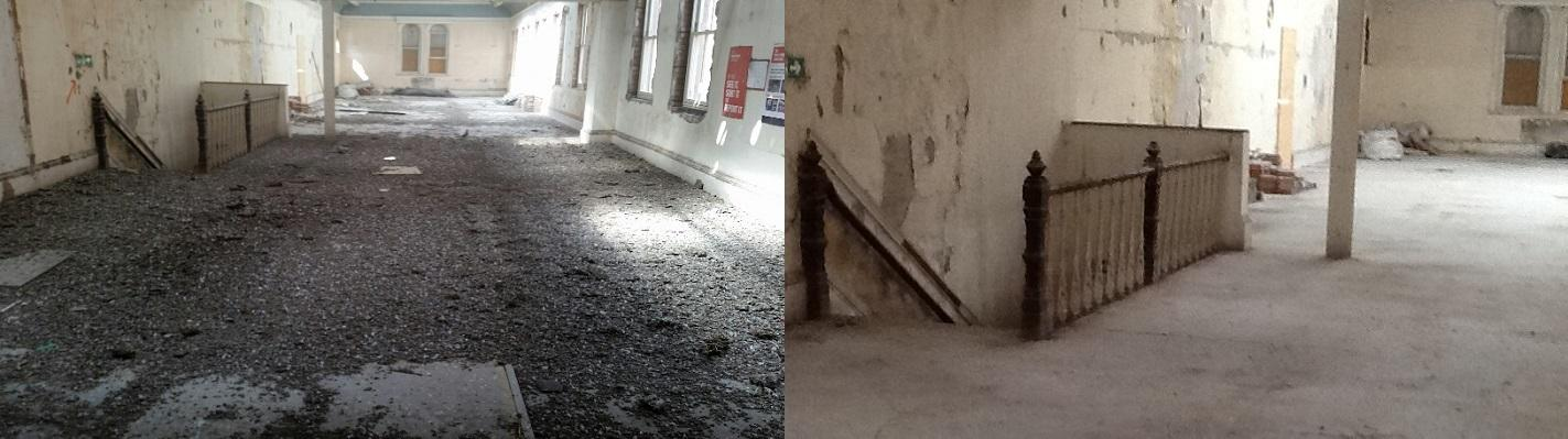 Guano Clearance Before After